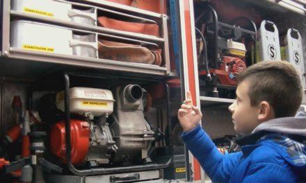 Kuba – najmłodszy strażak w drużynie
