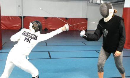 """Wiktoria i jej """"boks na szpady"""""""